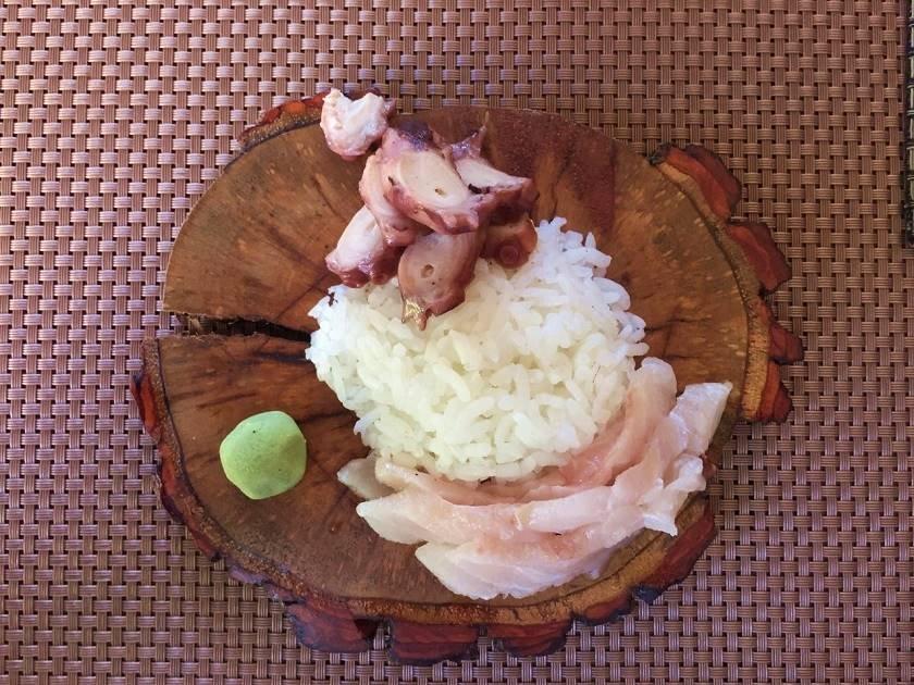 Blas_ Sushi de polvo e peixe