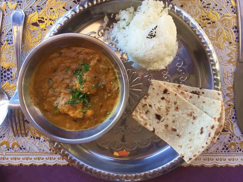 Indian House _ Curry de peixe