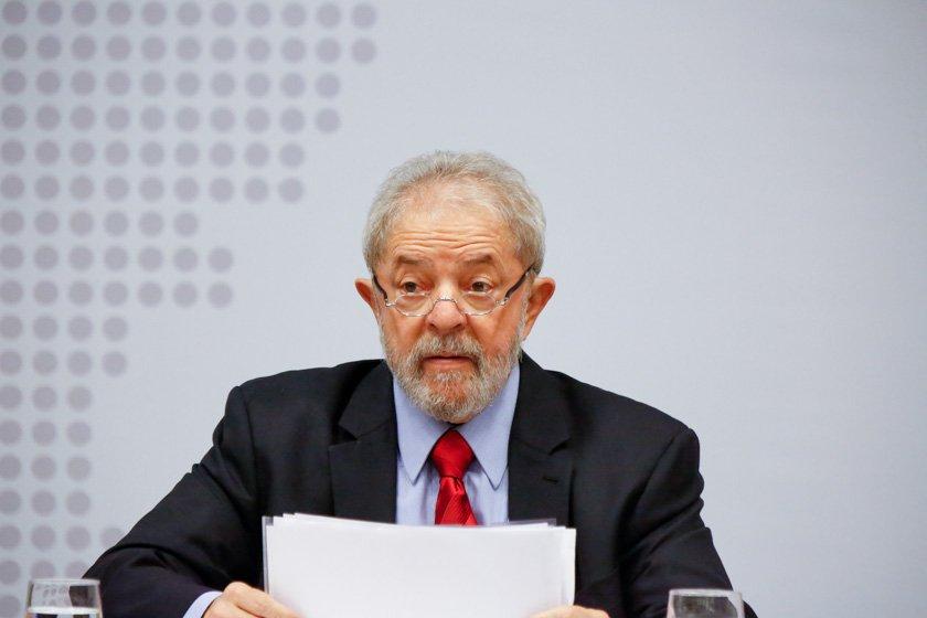 Luiz Inácio Lula da Silva durante evento do PT em Brasília. - Brasília(DF), 24/04/2017