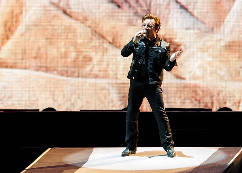 U2 Performs At BC Place