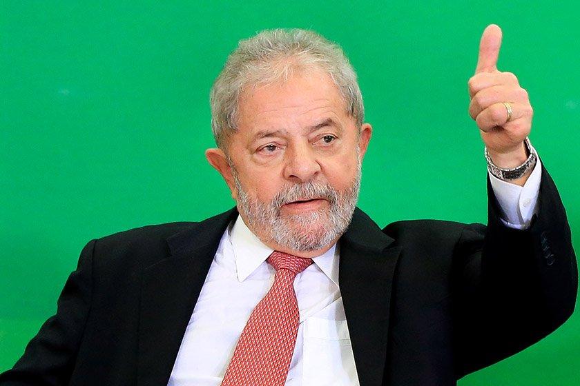 Ex presidente Luis Inacio Lula da Silva