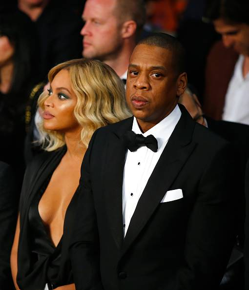 Beyonce and and Jay Z