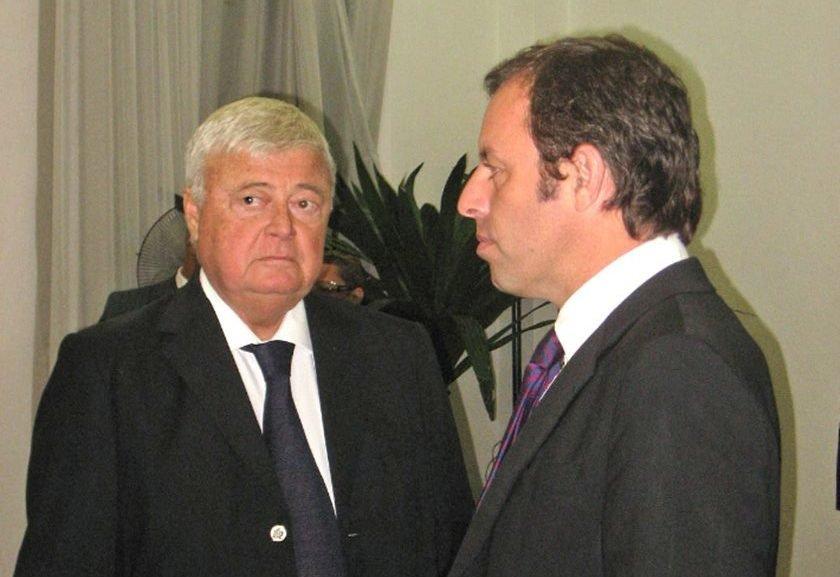 Ex-presidente do Barça é preso por contratos com a CBF