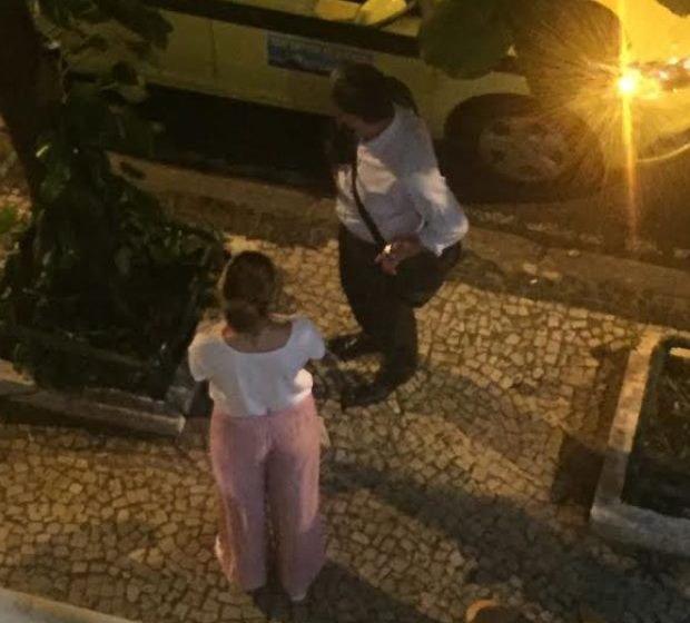 Vaza primeira foto de William Bonner com sua nova namorada no Rio