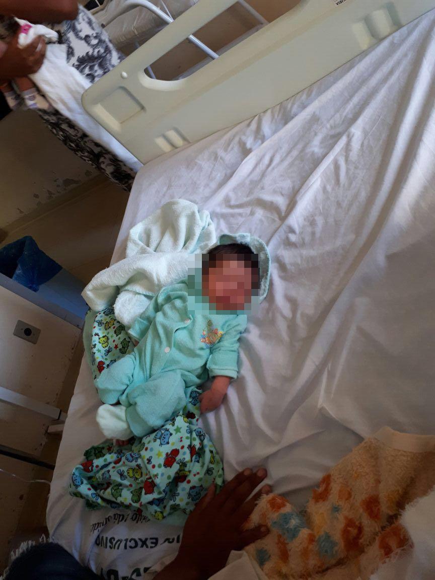 Bebê sequestrado