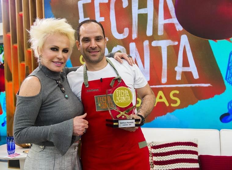 Ana Maria Braga reata namoro com Rui Gregolim, publicitário de 44 anos