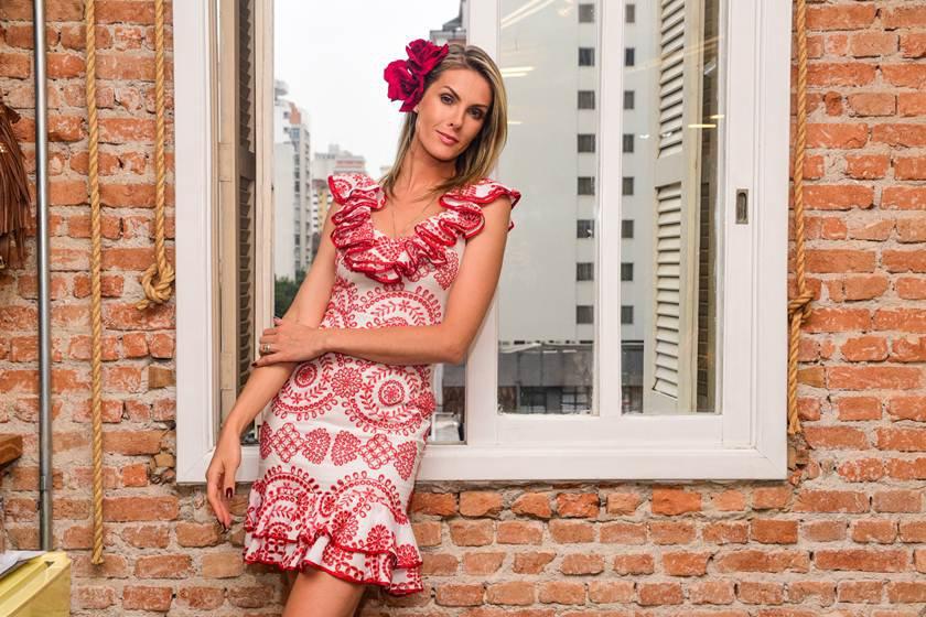 Ana Hickmann será madrinha do casamento de Ticiane Pinheiro