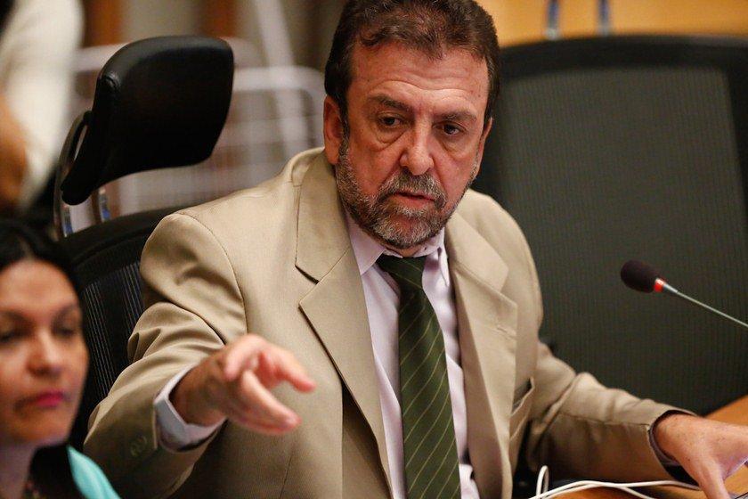 Brasília(DF), 04/10/2016 - Sessão Plenária na Câmara Legislativa do Distriti Federal Na foto o deputado Juarezão Foto: Daniel Ferreira/Metrópoles