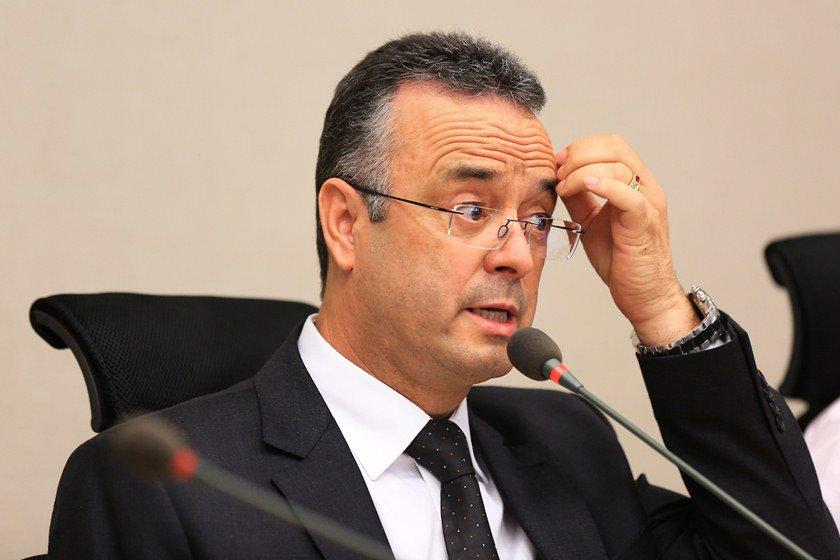 Brasília (DF), 25/04/2016 - Bispo Renato Andrade - CPI do Transporte na CLDF - Foto, Michael Melo/Metrópoles