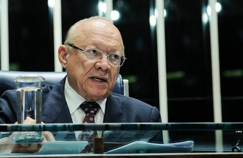 Presidente do Conselho de Ética do Senado recebe alta do hospital