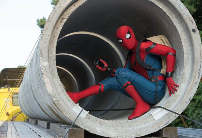 Audição de Tom Holland para o papel de Peter Parker — Homem-Aranha