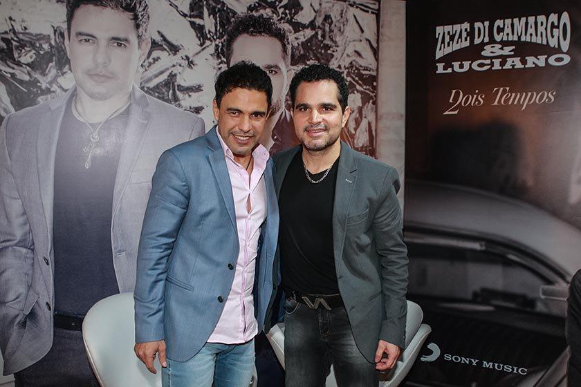 Luciano faz dupla sertaneja com Zezé Di Camargo