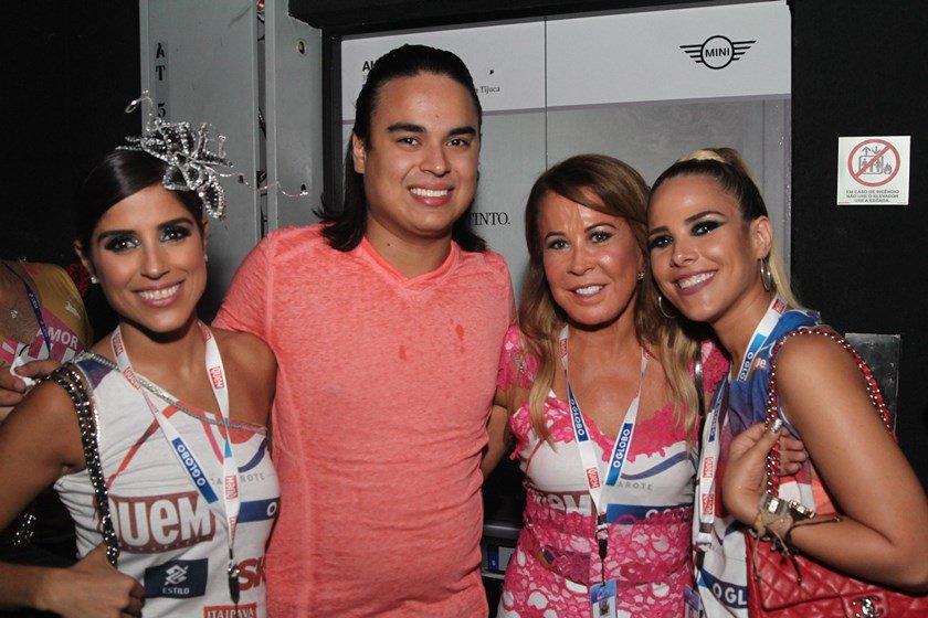 Wanessa, Zilu, Camila e Igor Camargo