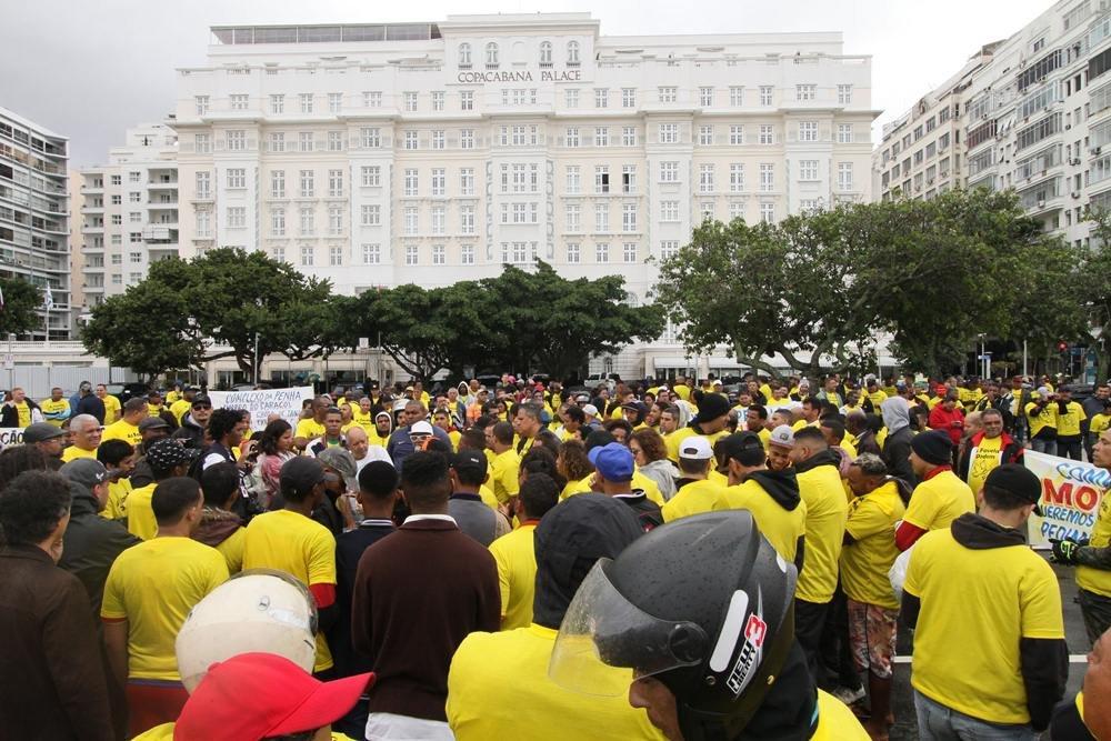 PROTESTO DAS FAVELAS PELA PAZ