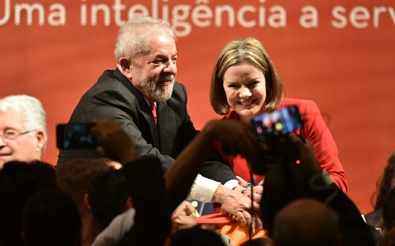 Lula presta depoimento em SP como testemunha em ação contra Gleisi Hoffmann