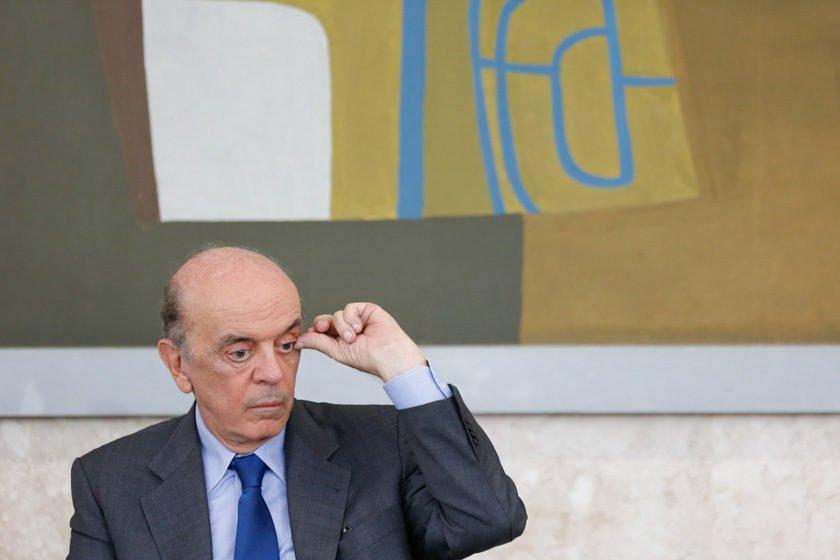 Janot pede inquérito contra José Serra por caixa dois em 2010