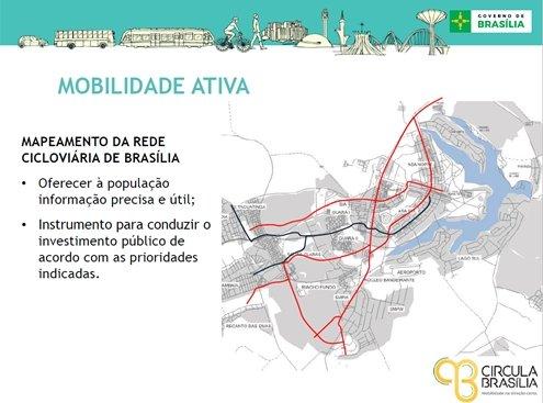 mapeamento da rede cicloviária