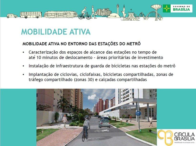 mobilidade ativa no entorno do metrô