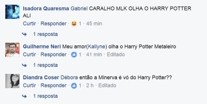 Na web, Fernanda Montenegro 'vira avó' de Harry Potter e Claudinha