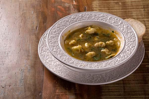 Capeletti in brodo - Italian cuisine