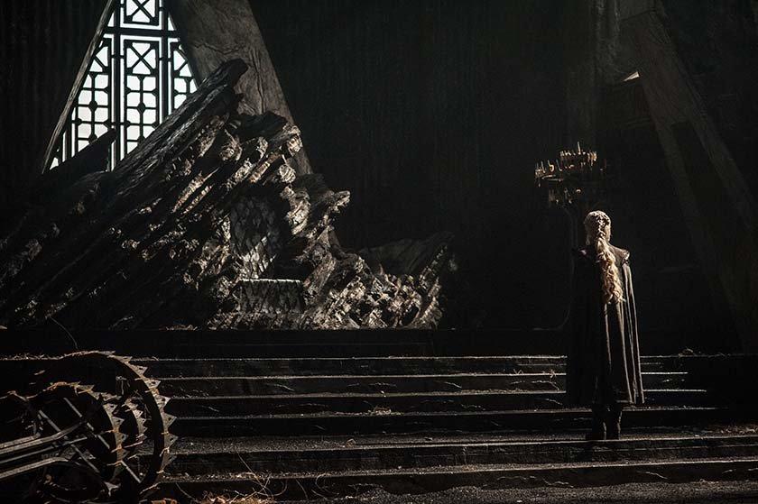 Daenerys Targaryen (Emilia Clarke) - GoT S7 - Ep 01 (2)