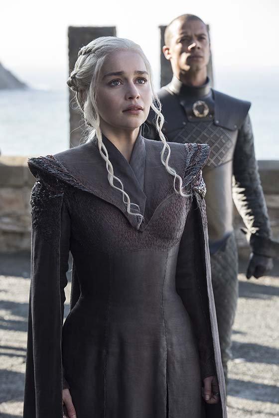 Daenerys Targaryen (Emilia Clarke) - GoT S7 - Ep 01