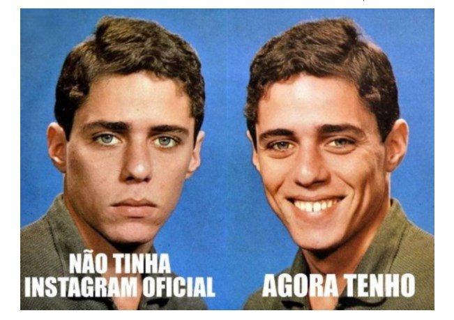 Chico Buarque estreia no Instagram e brinca com seu próprio meme