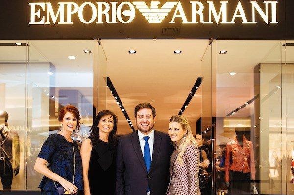 21a70f5c88967 Emporio Armani fecha loja em Brasília