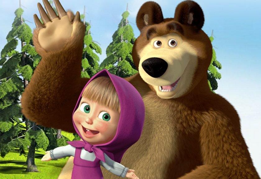 video masha e orso da