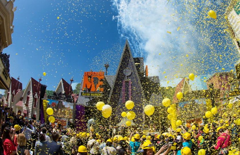 """Universal Studios Hollywood Celebrates The Premiere Of New 3D Ultra HD digital Animation Adventure """"Despicable Me Minion Mayhem"""""""
