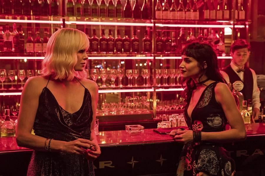 sofia boutella atomic-blonde-charlize-theron1 sofia boutella