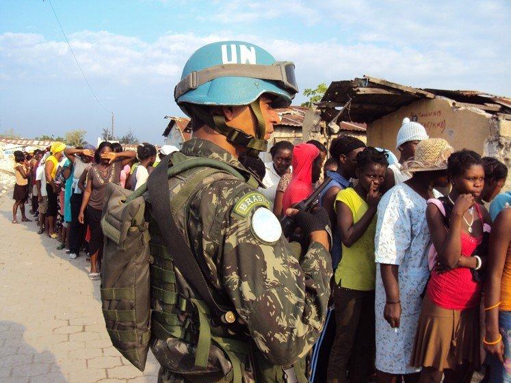 A última patrulha do Exército brasileiro em missão de paz no Haiti 66de2955f8f