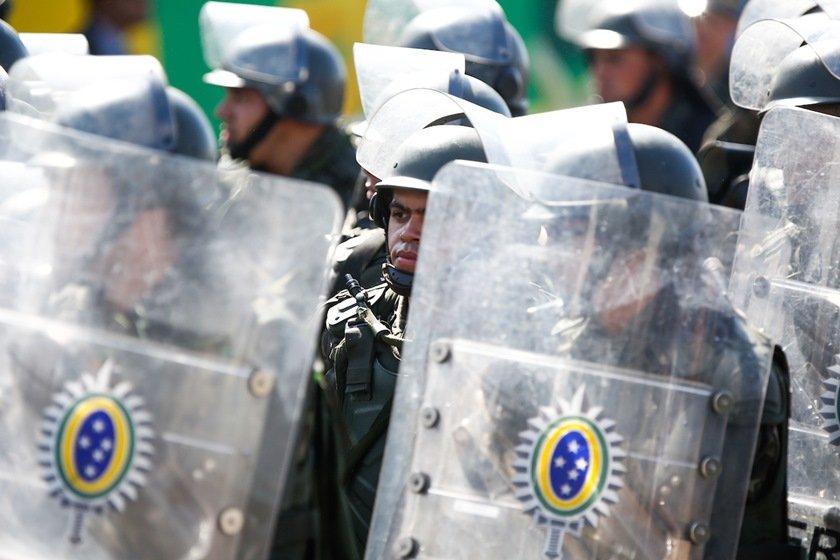 Temer deixa esplanada dos ministérios após desfile de 7 de setembro