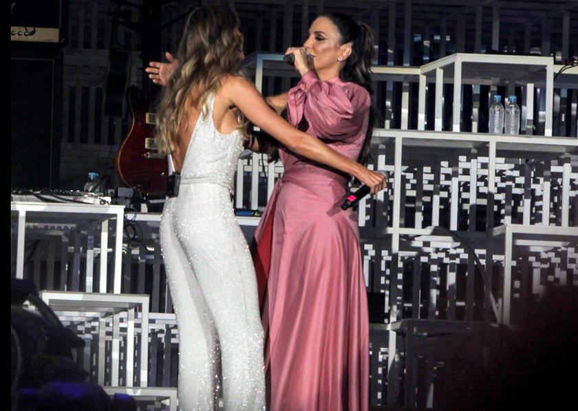 1/5Gisele e Ivete no primeiro dia do Rock in RioAgnews