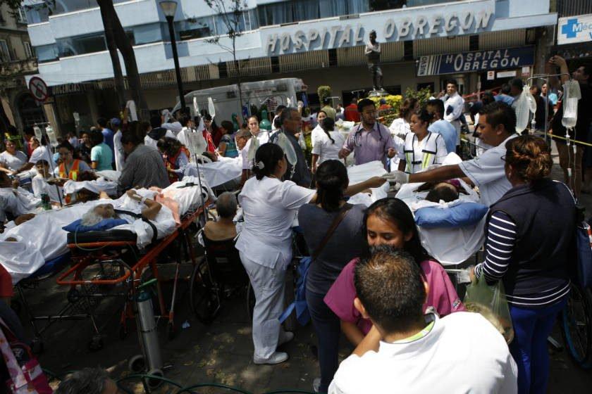 Afinal, não havia nenhuma criança soterrada na escola do México