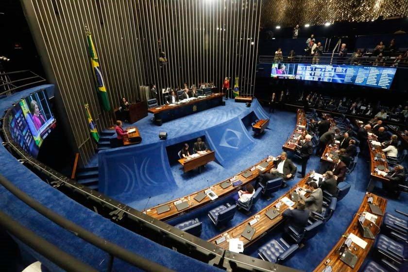 Sessão extraordinária do Senado que vai decidir sobre a admiss