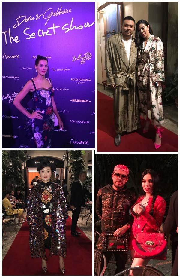 """e6af4919e6348 O Martini Bar Dolce   Gabbana foi o local escolhido pelos estilistas para  montarem uma runway e apresentarem a mais recente linha de """"high  eveningwear""""."""