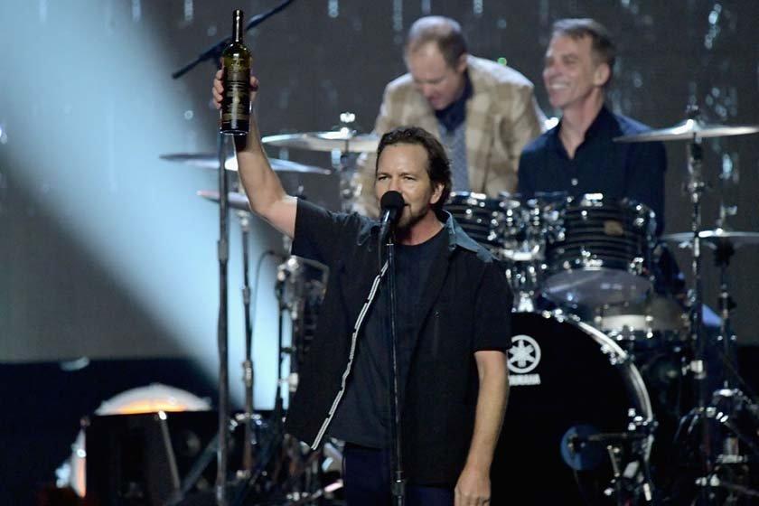 Eddie Vedder do grupo Pearl Jam