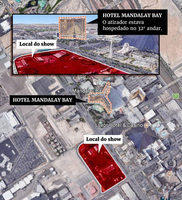 Namorada do assassino de Las Vegas desconhecia planos do massacre