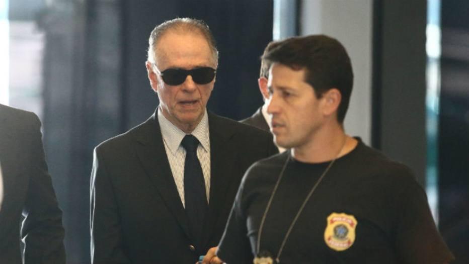 1/5Carlos Arthur Nuzman foi preso na manhã desta quinta-feira por agentes da Polícia Federal Wilton Junior  Estadão