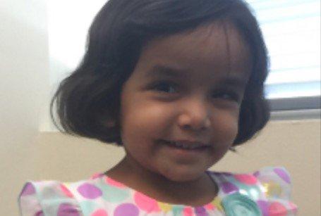 Menina de 3 anos desaparece após ser colocada de castigo na rua