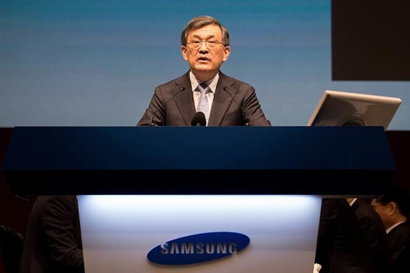 CEO da Samsung demite-se