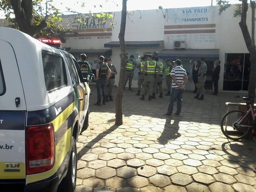 4653ffe782 ANTT, Receita e policiais de Goiás combatem o uso da carta-frete