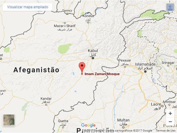 Ataques a mesquitas afegãs matam ao menos 59