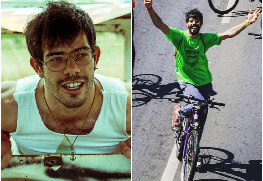 Ciclista da ONG Rodas da Paz é atropelado e fica gravemente ferido