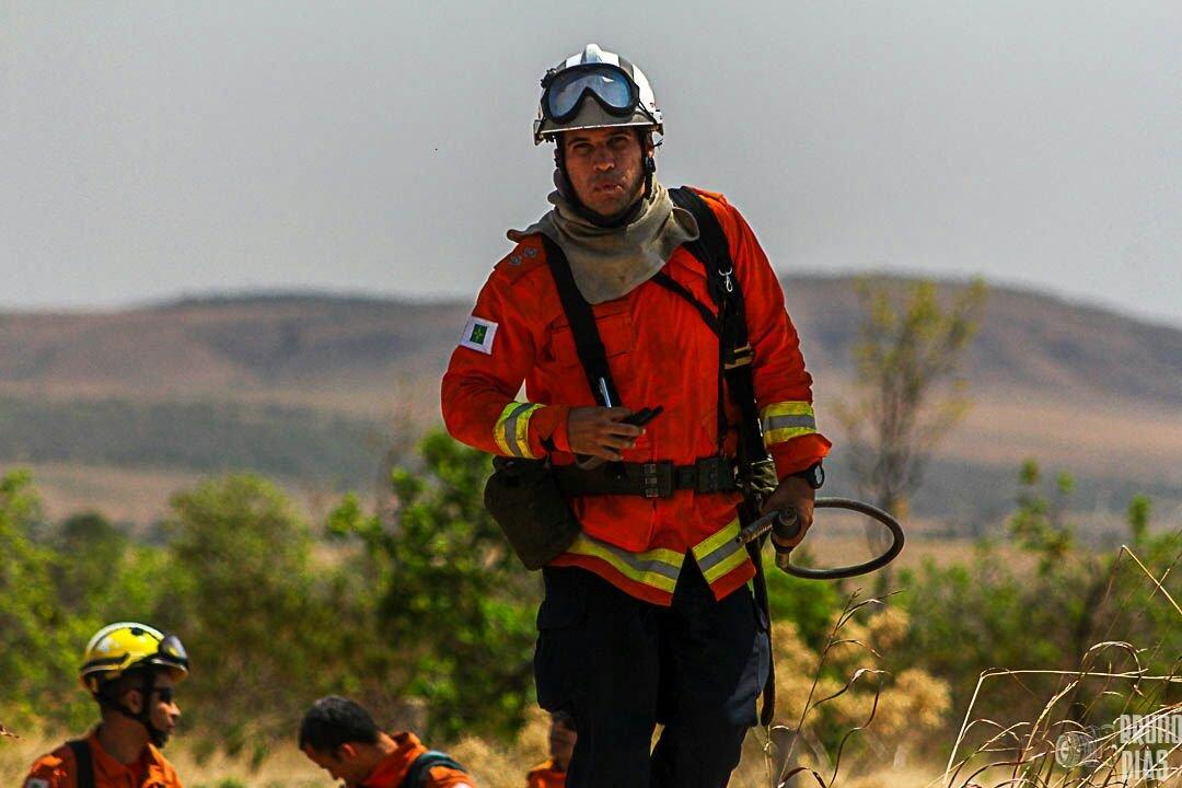 Chove na Chapada dos Veadeiros, mas raio provoca novo incêndio
