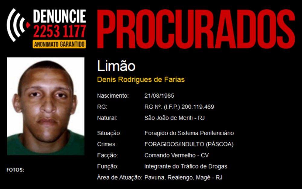 Divulgação/Procurados.org