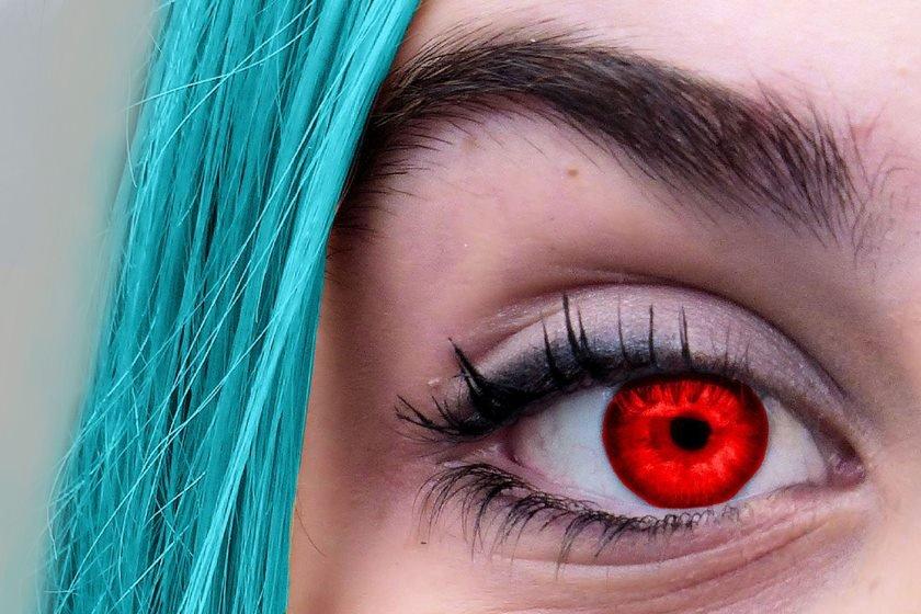 75ee65fc4 Cuidado com as lentes de contato exóticas das fantasias de Halloween