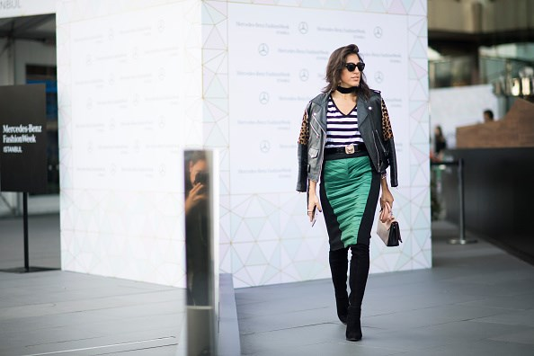 Street Style - Day 2 - Mercedes-Benz Fashion Week Istanbul - October 2016