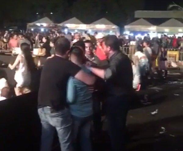 PMs trocam tiros e interrompem show de Gusttavo Lima em MT